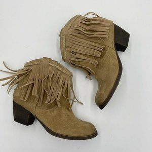 Rock And Candy By Zigi Women's Harper Fringe Boots